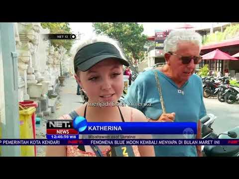 Fenomena Turis Asing Kehabisan Ongkos  NET 12