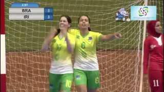 brasil 5x3 irã - Mundial de Futsal Feminino Tailândia 24 11 2015