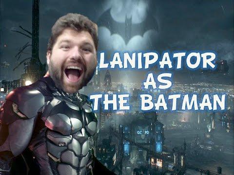 Lanipator as the Batman w TFS Arkham Knight