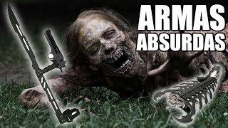 ARMAS ABSURDAS ANTI-ZOMBIES - CON POCHOCLOEN3D