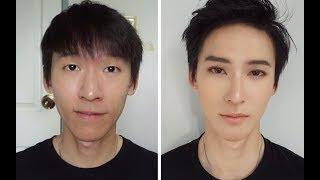 Natural Korean Male Makeup [Eng Sub, ซับไทย] แต่งหน้าผู้ชายสไตล์อปป้า