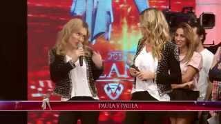 Showmatch 2014 - Paula Chaves conoció a su doble y le mantiene la cuarentena a Pedro