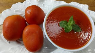 Tomato Sauce Recipe,Long Time Storage System/টমেটো সস রেসিপি ও সংরক্ষন পদ্ধতি/Tomato Ketchup Recipe