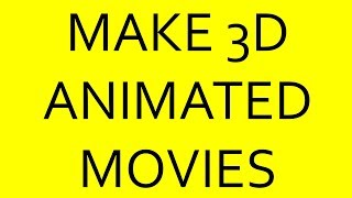 Download Software Pixar Uses for Free 3D Animated Movie Making