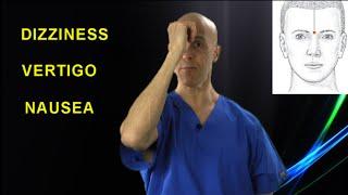 Top 2 Acupressure Points to Get Rid of VERTIGO & DIZZINESS - Dr Mandell