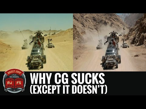 Why CG Sucks (Except It Doesn't)