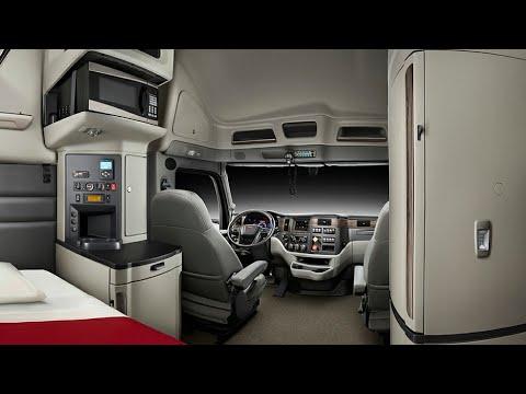 All New 2021 PETERBILT 579 Interior A Luxury Bedroom on Wheels