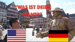 AMERICAN TRIES TO SPEAK GERMAN WITH GERMANS (AWKWARD)