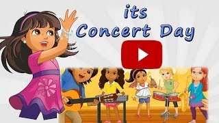 Dora The Explorer Dora and Friends ★ Games to Play ★ its Concert Day ! ★ ★ ★ ★ ★