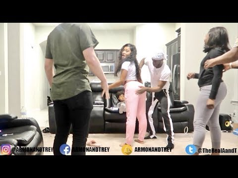 Xxx Mp4 FEELING ON YOUR GIRL BOOTY PRANK ON PERFECT LAUGHS AND JORDAN 3gp Sex