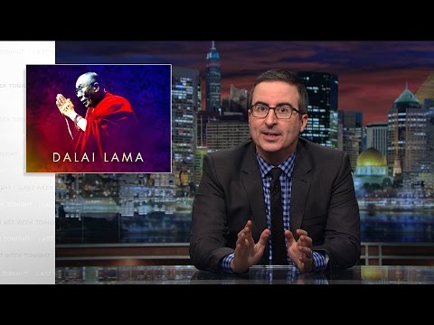 Dalai Lama Last Week Tonight with John Oliver HBO