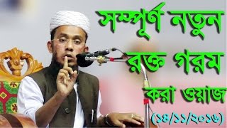 Kawser Ahmed Hasani 2016   সম্পূর্ণ নতুন রক্ত গরম করা ওয়াজ শুনুন আশা করি ভাল লাগবে   New Waz 2017