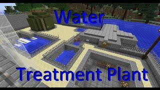 Minecraft: Water Treatment Plant