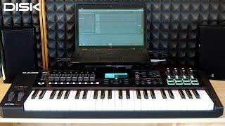 M-Audio CTRL49: Ovládání a řízení programu Ableton Live