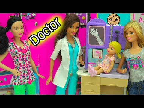 Xxx Mp4 बाल रोग विशेषज्ञ डॉक्टर नर्स बार्बी गुड़िया मेडिकल सेंटर प्लेसेट के साथ एक दिन 3gp Sex