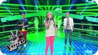 BOY - Little Numbers (Leif, Vanessa, Joel)   The Voice Kids 2014   BATTLE   SAT.1