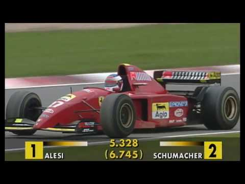 Schumacher vs. Alesi Amazing Battle at Nürburgring 1995 50fps Broadcast Quality