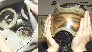 Anatomy of a gas mask