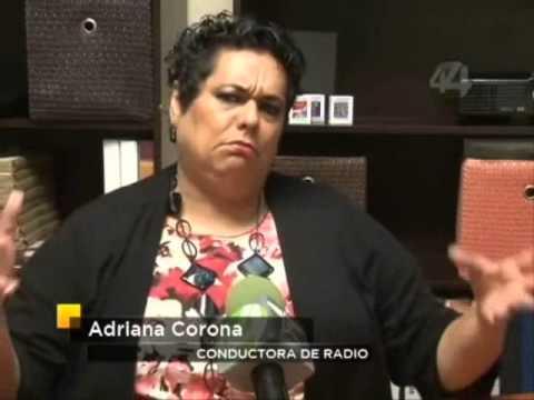 Adriana Corona La conductora que cura la Homosexualidad.