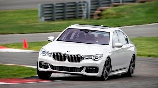2016 BMW 7 Series 750i & 740i FIRST DRIVE REVIEW @ Monticello Motor Club