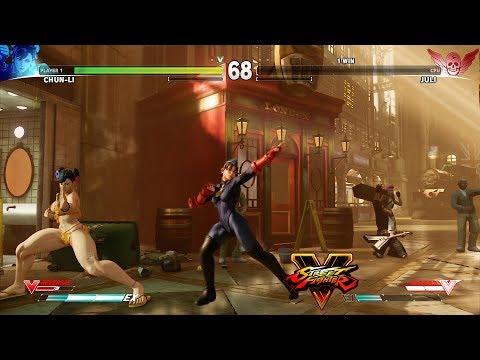 Xxx Mp4 Street Fighter V Chun Li Vs Juli PC Mod 3gp Sex