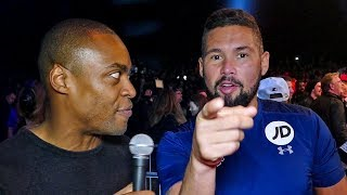 "Tony Bellew to Andre Ward: "" I WILL MANHANDLE ANDRE WARD"""