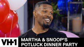 Jamie Foxx, Patti LaBelle & Charlie Wilson Inhale Helium | Martha & Snoop's Potluck Dinner Party