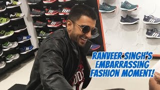Ranveer Singh Reveals His Most Embarrassing Fashion Moment!