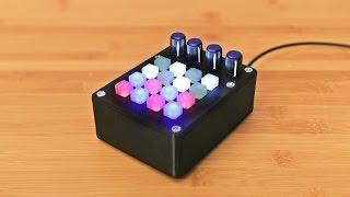 Mini Untztrument - 3D Printed MIDI Controller