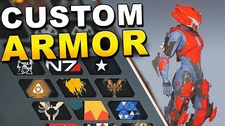 Anthem - HOW TO CUSTOMIZE ARMOR in The Forge !!