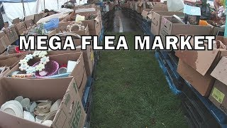 Searching for Treasures at a Giant Church Flea Market