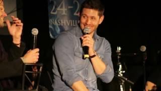Jensen & Jared Panel - Supernatural Nashville Convention 2017 - Jared's accent :)