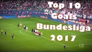 أفضل 10 اهداف في الدوري الالماني لعام 2017