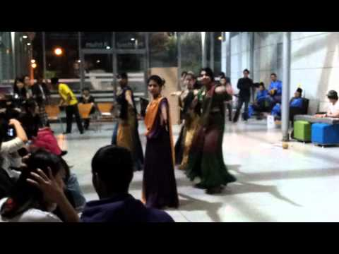 Indian Dance Practice - Nottingham University Mnight 2012 .mp4