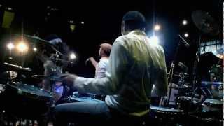 Francesco Mendolia & João Caetano (from INCOGNITO) Drums & Percussions solo -London 2012-