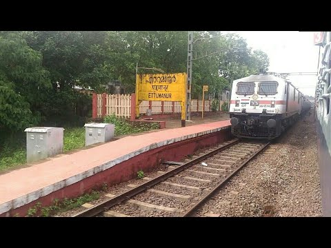 Xxx Mp4 Arriving At Ettumanoor Railway Station Meeting WAP7 Venad Express 3gp Sex