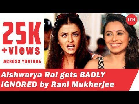 Xxx Mp4 Aishwarya Rai Gets BADLY IGNORED By Rani Mukherjee Indian Film History 3gp Sex