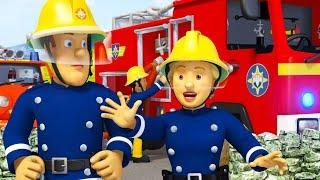 Sam el Bombero Español 🌟Apagando las llamas | 5 Capítulos Completos 🔥 Dibujos animados