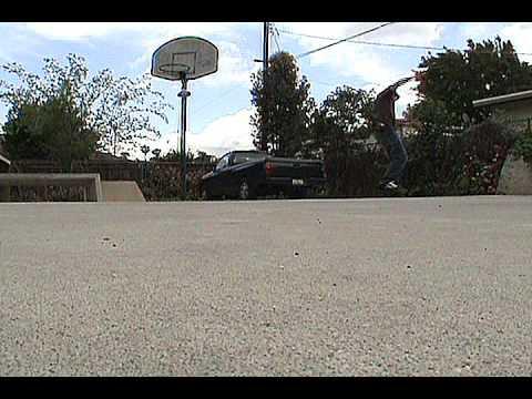 Streetsurfing Wave board Video 1 Alvin Calhoun