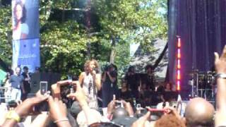 Whitney Houston in Central Park!! Your love is my love!!