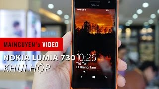 Khui hộp Nokia Lumia 730 dual sim - www.mainguyen.vn