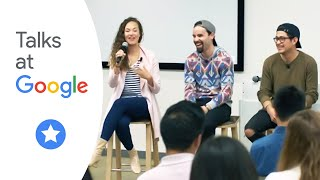 "Solea Pfeiffer, Ryan Alvarado, Rubén J. Carbajal, : ""Hamilton National Tour Cast"" 