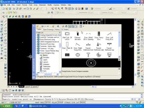 AutoCAD training online :8.4 design Center block creation in hindi/Urdu