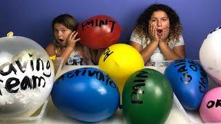 Making Slime With Giant Balloons! Giant Slime Balloon Tutorial