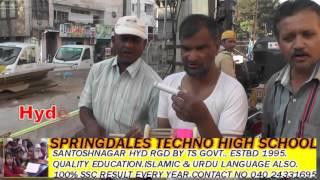 Election Colours in Kite Festival/ Hyderabad News urdu .com