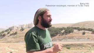 Palestine: Baha Hilo (To Be There) on Israeli wall and settlements