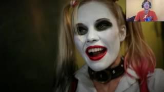 JOKER & HARLEY QUINN vs DEADPOOL & DOMINO - Super Power Beat Down (Episode 16) REACTION
