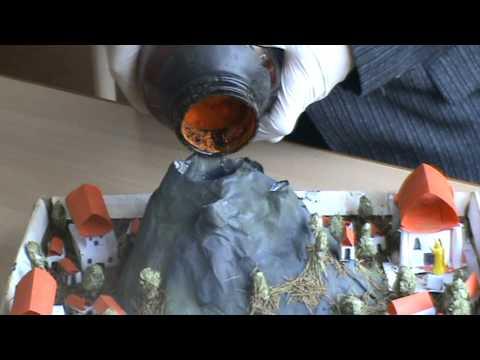 Извержение вулкана в домашних условиях