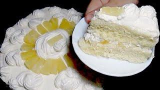 Pineapple Cake Recipe - Homemade Cake Recipe
