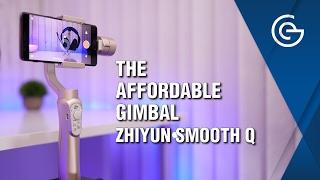 Budget Smartphone Gimbal - Zhiyun Smooth Q